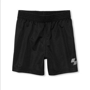 NWT PLACE Boys Black Sport Basketball Shorts 5T